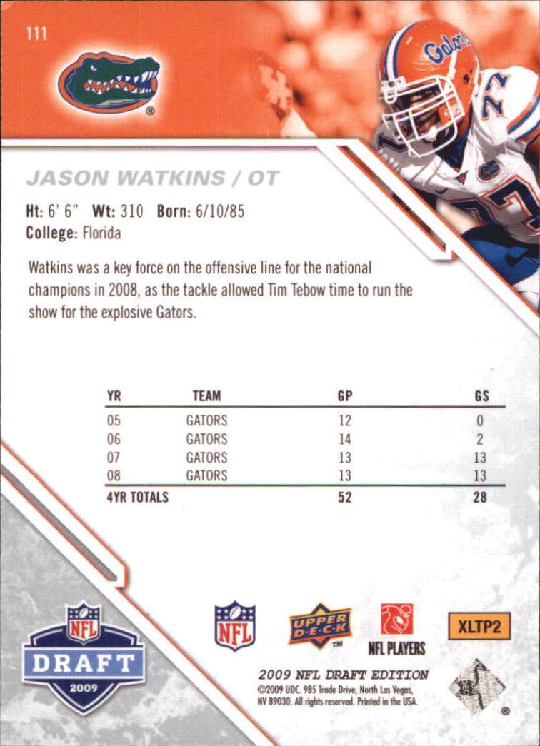 2009-Upper-Deck-Draft-Edition-Football-1-255-Your-Choice-GOTBASEBALLCARDS thumbnail 175