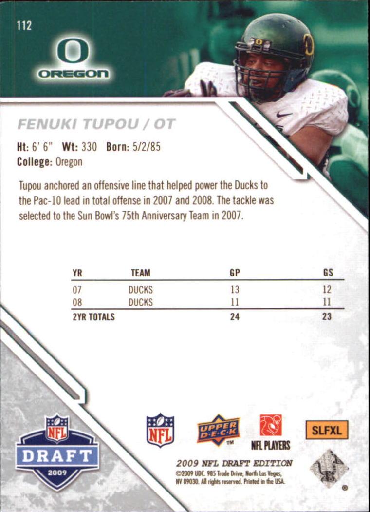 2009-Upper-Deck-Draft-Edition-Football-1-255-Your-Choice-GOTBASEBALLCARDS thumbnail 177