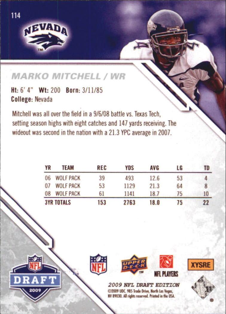 2009-Upper-Deck-Draft-Edition-Football-1-255-Your-Choice-GOTBASEBALLCARDS thumbnail 181