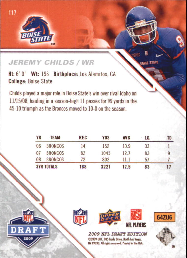 2009-Upper-Deck-Draft-Edition-Football-1-255-Your-Choice-GOTBASEBALLCARDS thumbnail 185