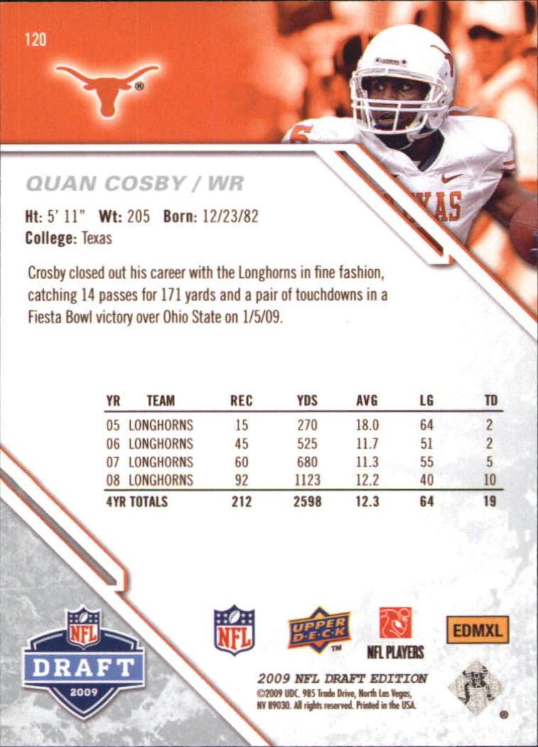 2009-Upper-Deck-Draft-Edition-Football-1-255-Your-Choice-GOTBASEBALLCARDS thumbnail 189
