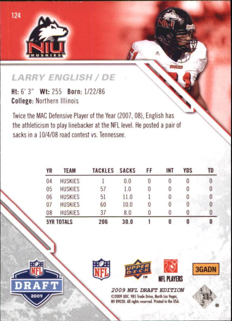 2009-Upper-Deck-Draft-Edition-Football-1-255-Your-Choice-GOTBASEBALLCARDS thumbnail 195