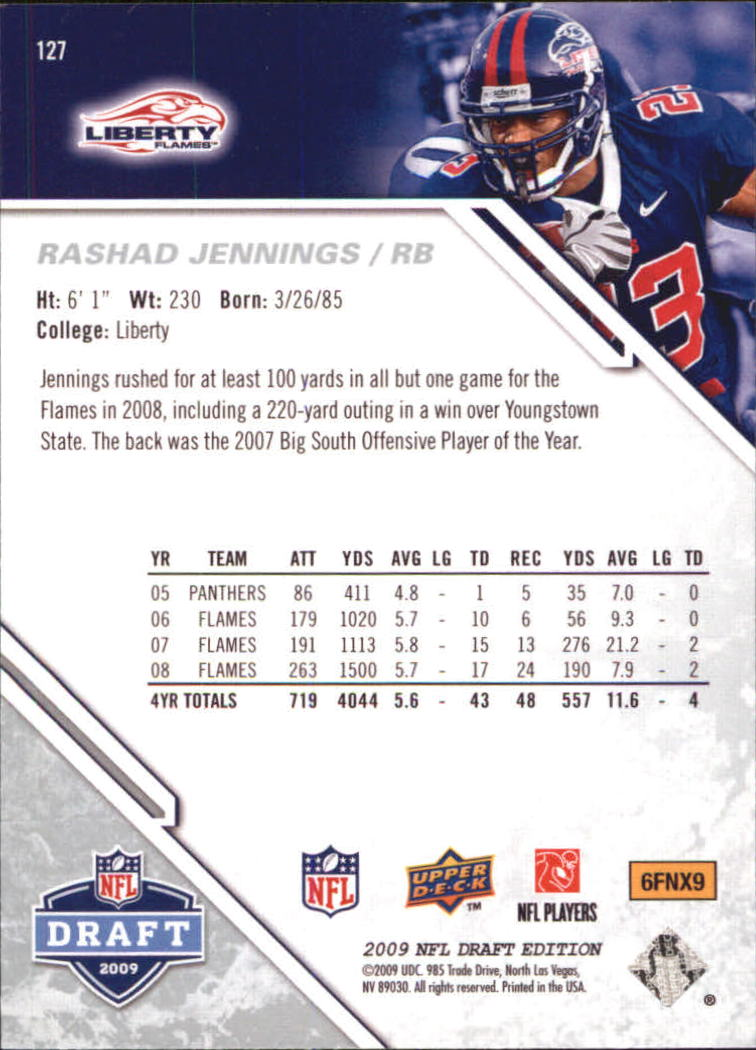 2009-Upper-Deck-Draft-Edition-Football-1-255-Your-Choice-GOTBASEBALLCARDS thumbnail 199