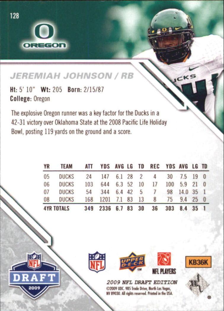 2009-Upper-Deck-Draft-Edition-Football-1-255-Your-Choice-GOTBASEBALLCARDS thumbnail 201