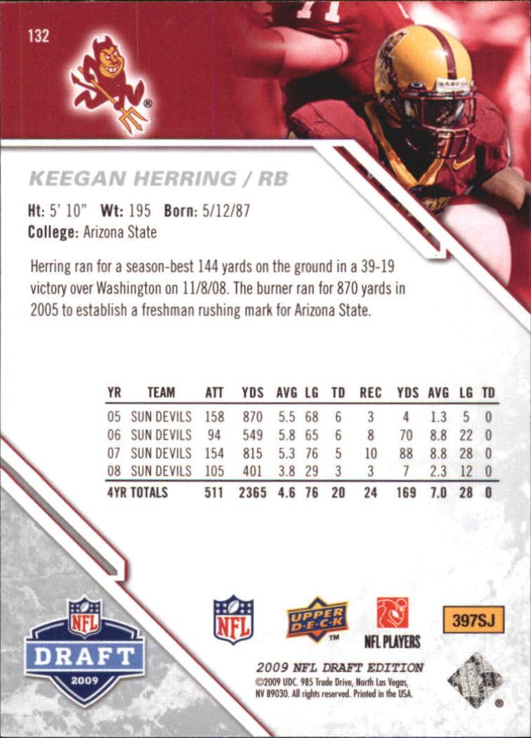 2009-Upper-Deck-Draft-Edition-Football-1-255-Your-Choice-GOTBASEBALLCARDS thumbnail 207