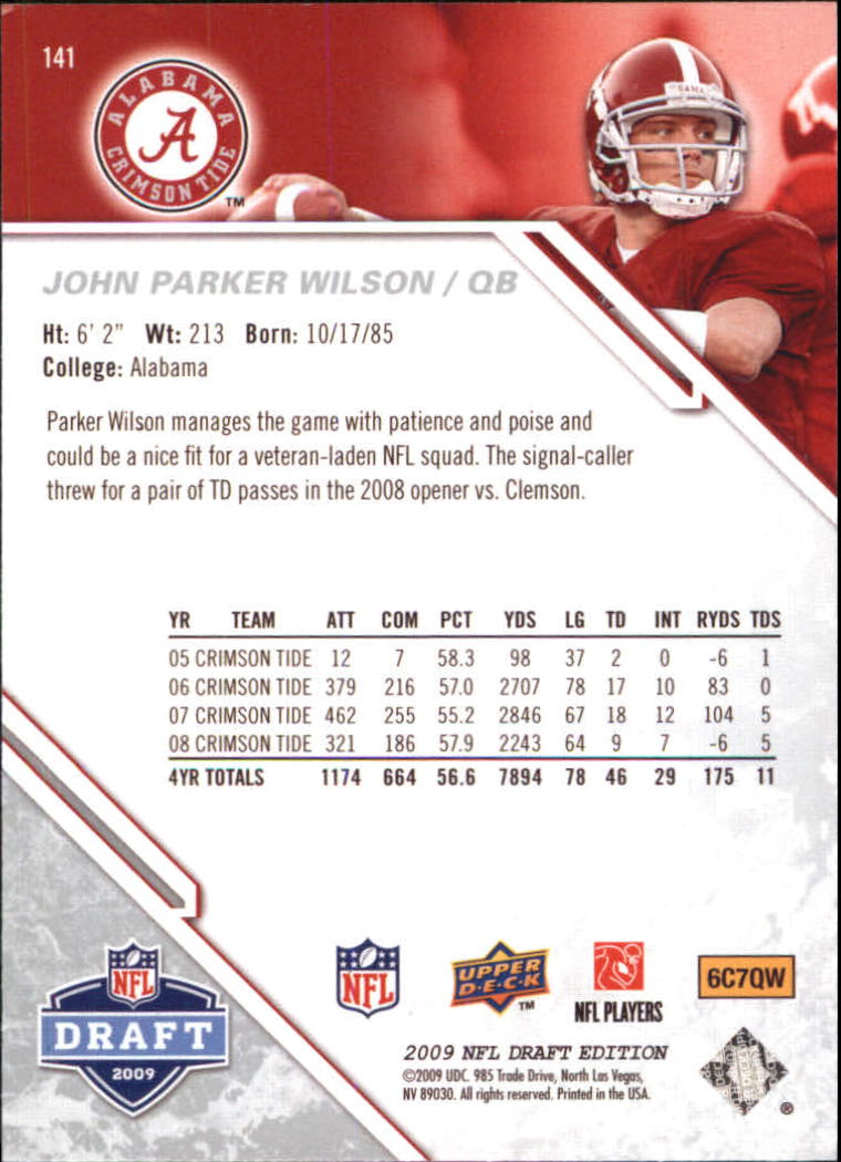 2009-Upper-Deck-Draft-Edition-Football-1-255-Your-Choice-GOTBASEBALLCARDS thumbnail 219