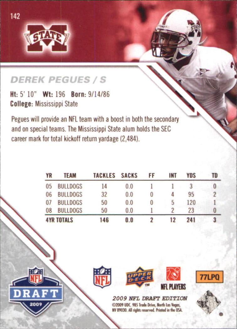 2009-Upper-Deck-Draft-Edition-Football-1-255-Your-Choice-GOTBASEBALLCARDS thumbnail 221