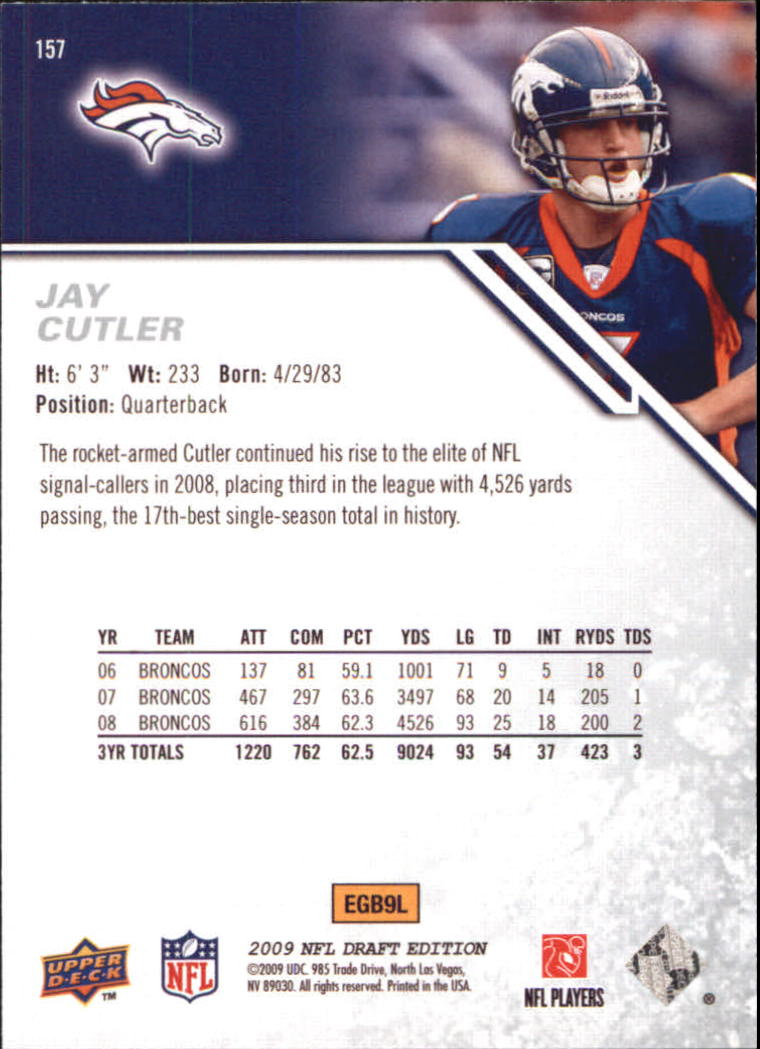 2009-Upper-Deck-Draft-Edition-Football-1-255-Your-Choice-GOTBASEBALLCARDS thumbnail 243
