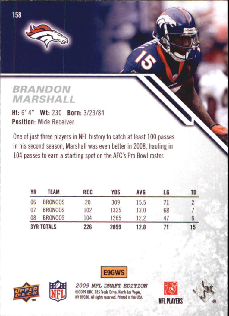 2009-Upper-Deck-Draft-Edition-Football-1-255-Your-Choice-GOTBASEBALLCARDS thumbnail 245