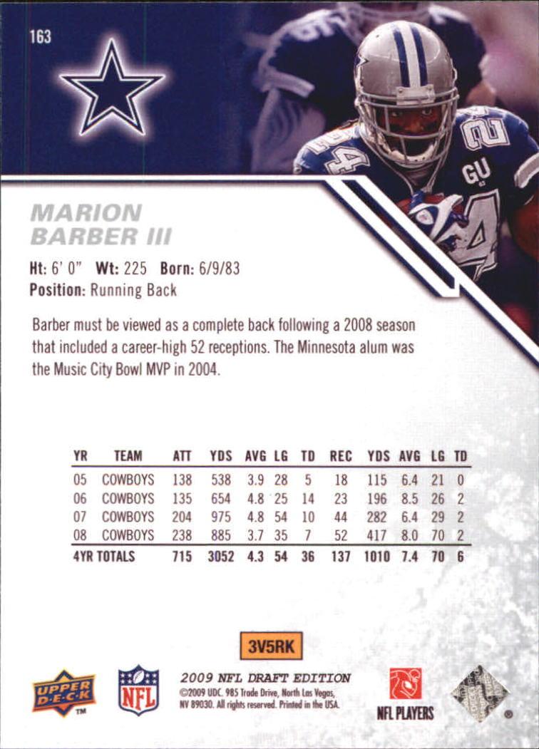 2009-Upper-Deck-Draft-Edition-Football-1-255-Your-Choice-GOTBASEBALLCARDS thumbnail 253