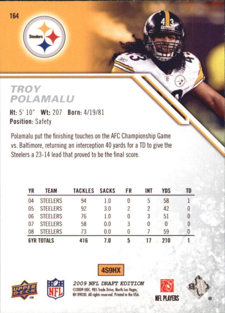 2009-Upper-Deck-Draft-Edition-Football-1-255-Your-Choice-GOTBASEBALLCARDS thumbnail 255