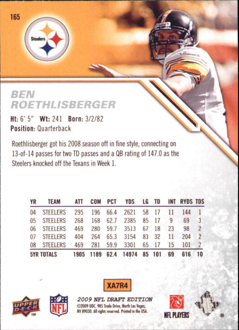 2009-Upper-Deck-Draft-Edition-Football-1-255-Your-Choice-GOTBASEBALLCARDS thumbnail 257