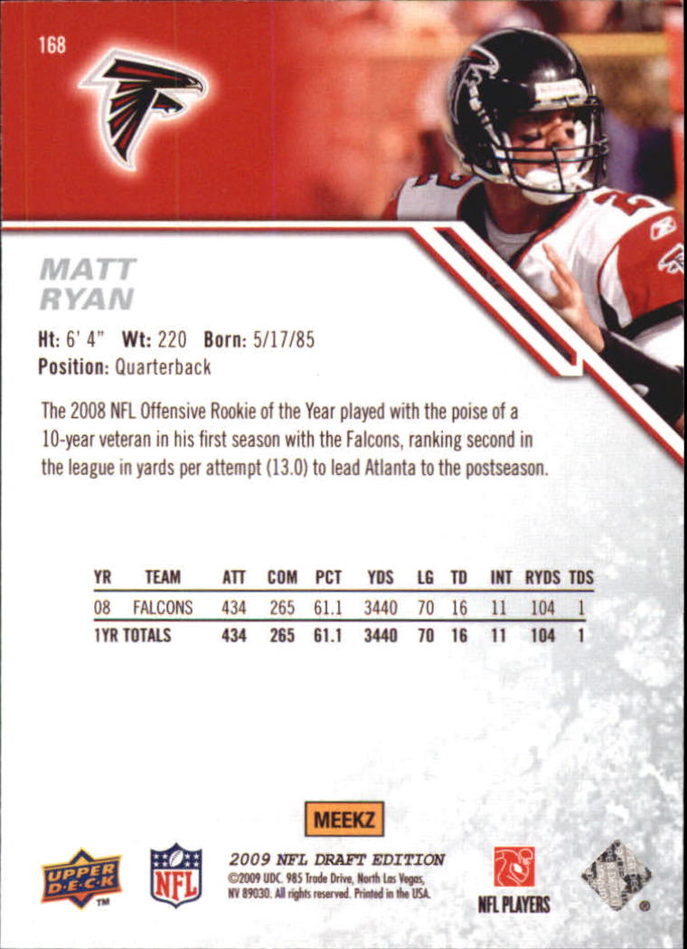 2009-Upper-Deck-Draft-Edition-Football-1-255-Your-Choice-GOTBASEBALLCARDS thumbnail 263