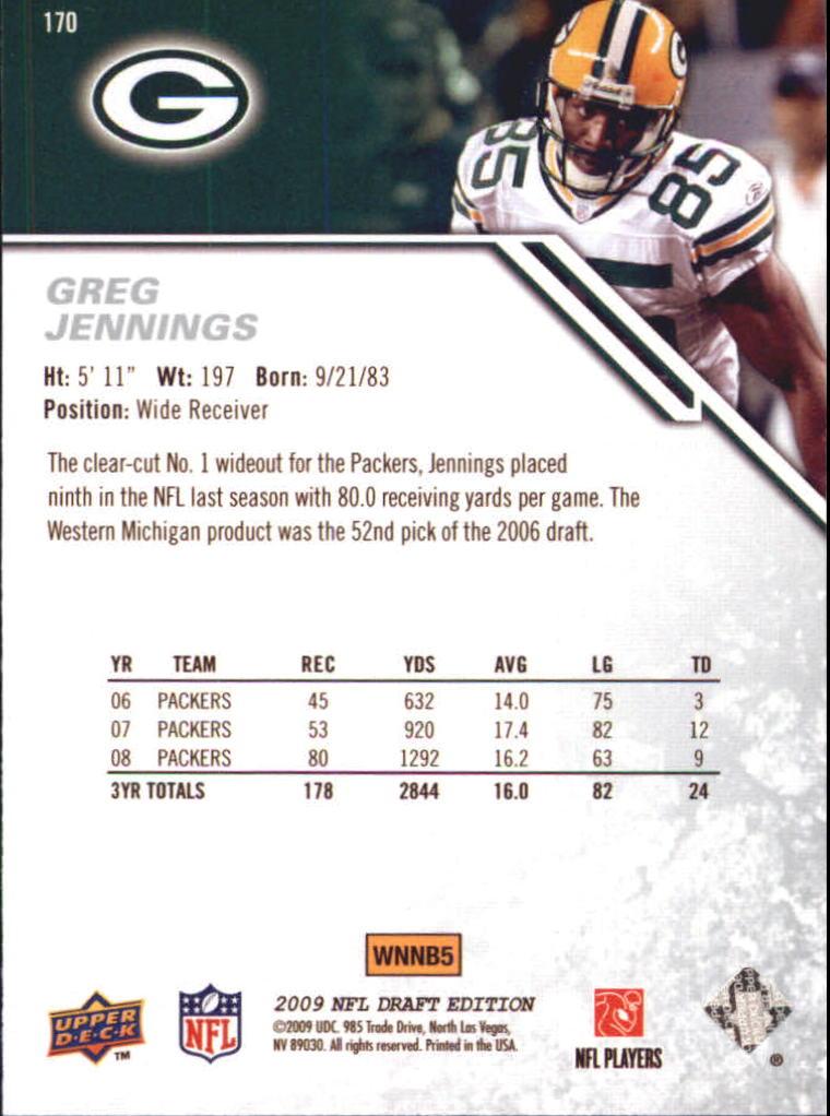 2009-Upper-Deck-Draft-Edition-Football-1-255-Your-Choice-GOTBASEBALLCARDS thumbnail 265