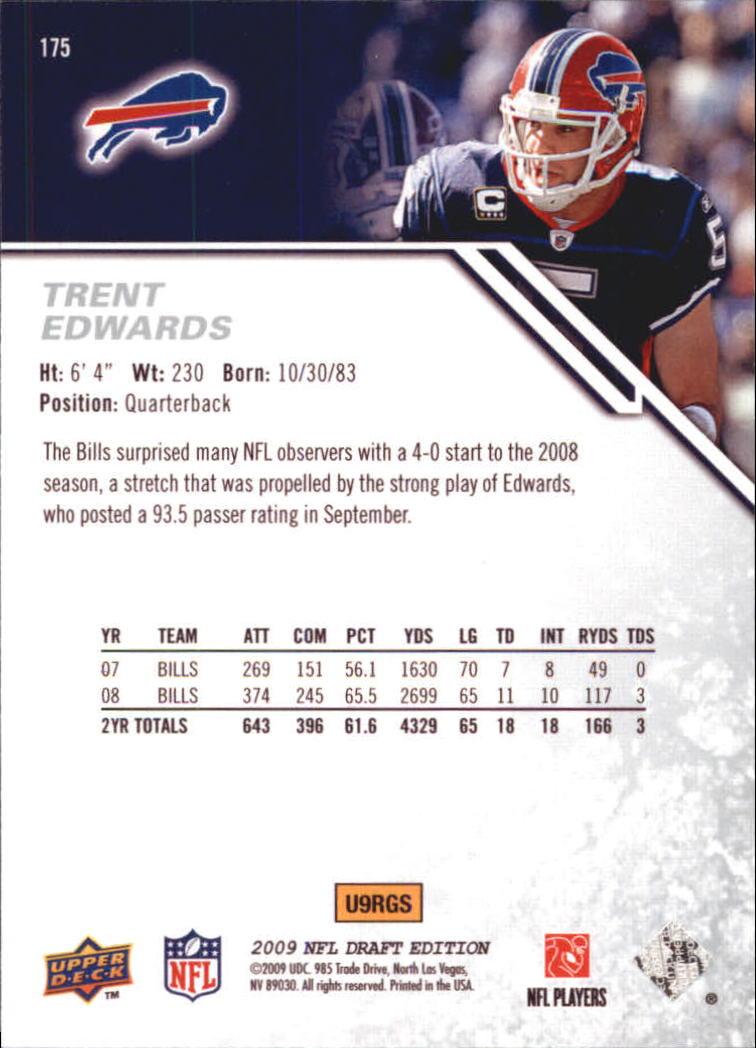 2009-Upper-Deck-Draft-Edition-Football-1-255-Your-Choice-GOTBASEBALLCARDS thumbnail 273