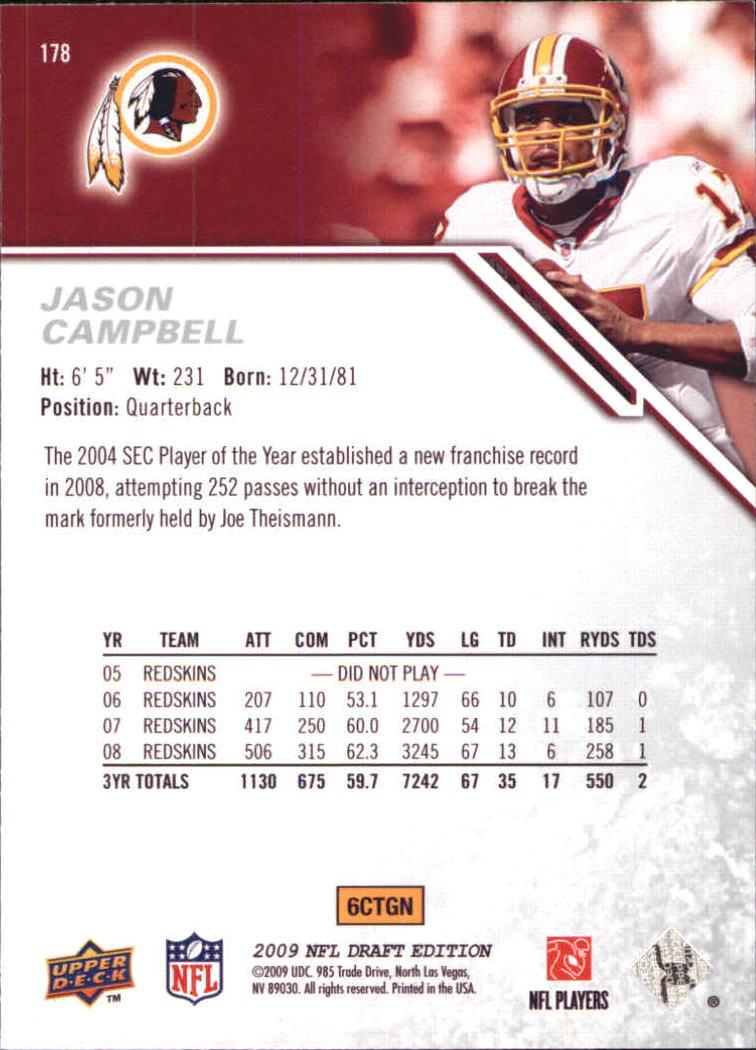 2009-Upper-Deck-Draft-Edition-Football-1-255-Your-Choice-GOTBASEBALLCARDS thumbnail 279