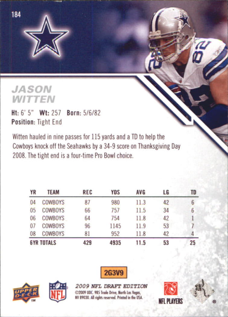 2009-Upper-Deck-Draft-Edition-Football-1-255-Your-Choice-GOTBASEBALLCARDS thumbnail 291