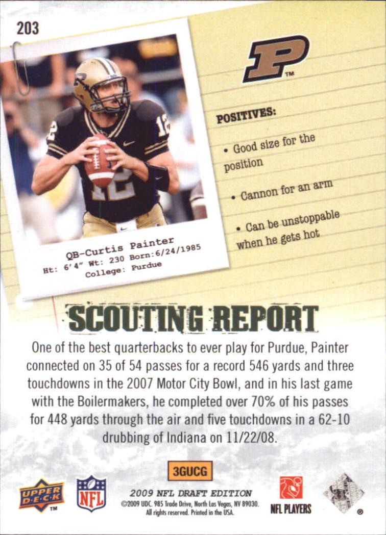 2009-Upper-Deck-Draft-Edition-Football-1-255-Your-Choice-GOTBASEBALLCARDS thumbnail 321