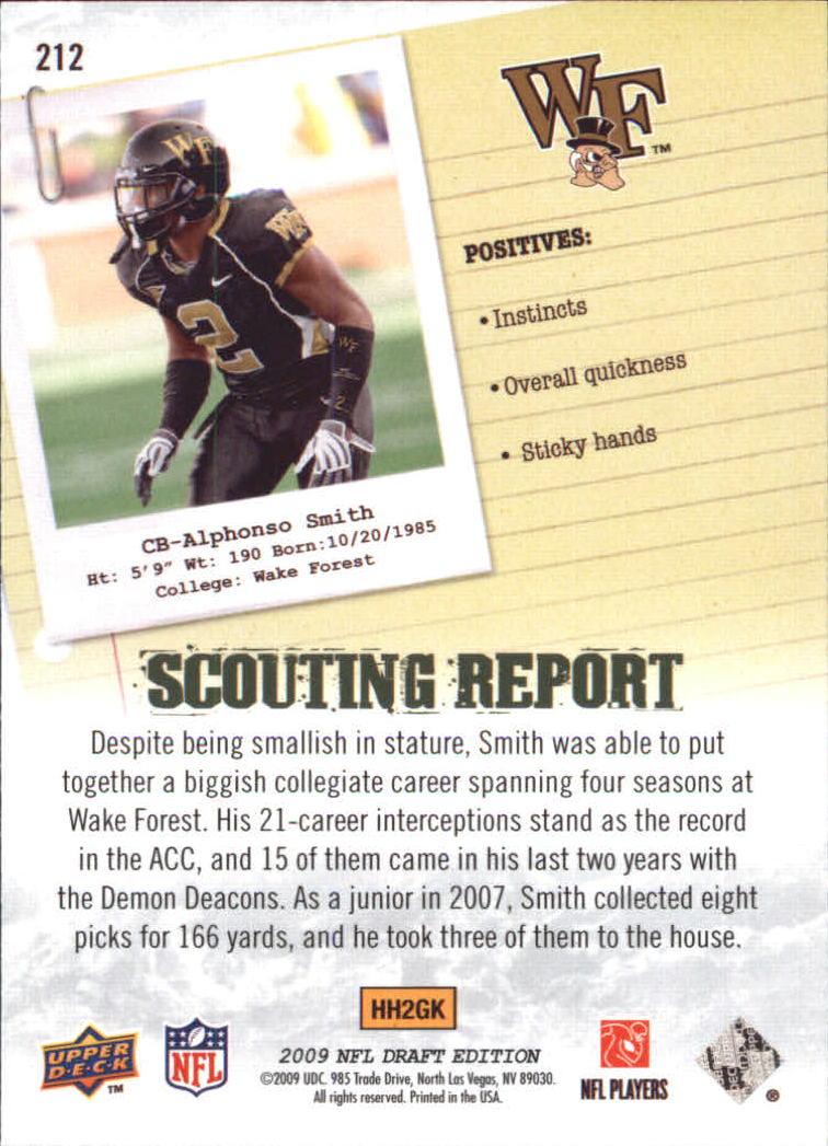 2009-Upper-Deck-Draft-Edition-Football-1-255-Your-Choice-GOTBASEBALLCARDS thumbnail 327