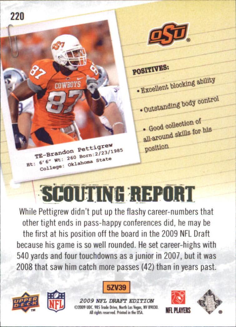 2009-Upper-Deck-Draft-Edition-Football-1-255-Your-Choice-GOTBASEBALLCARDS thumbnail 333