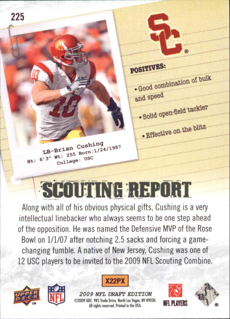 2009-Upper-Deck-Draft-Edition-Football-1-255-Your-Choice-GOTBASEBALLCARDS thumbnail 335
