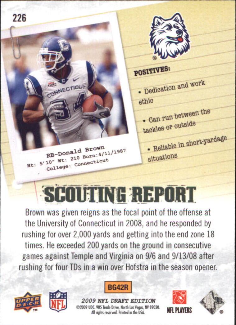 2009-Upper-Deck-Draft-Edition-Football-1-255-Your-Choice-GOTBASEBALLCARDS thumbnail 337