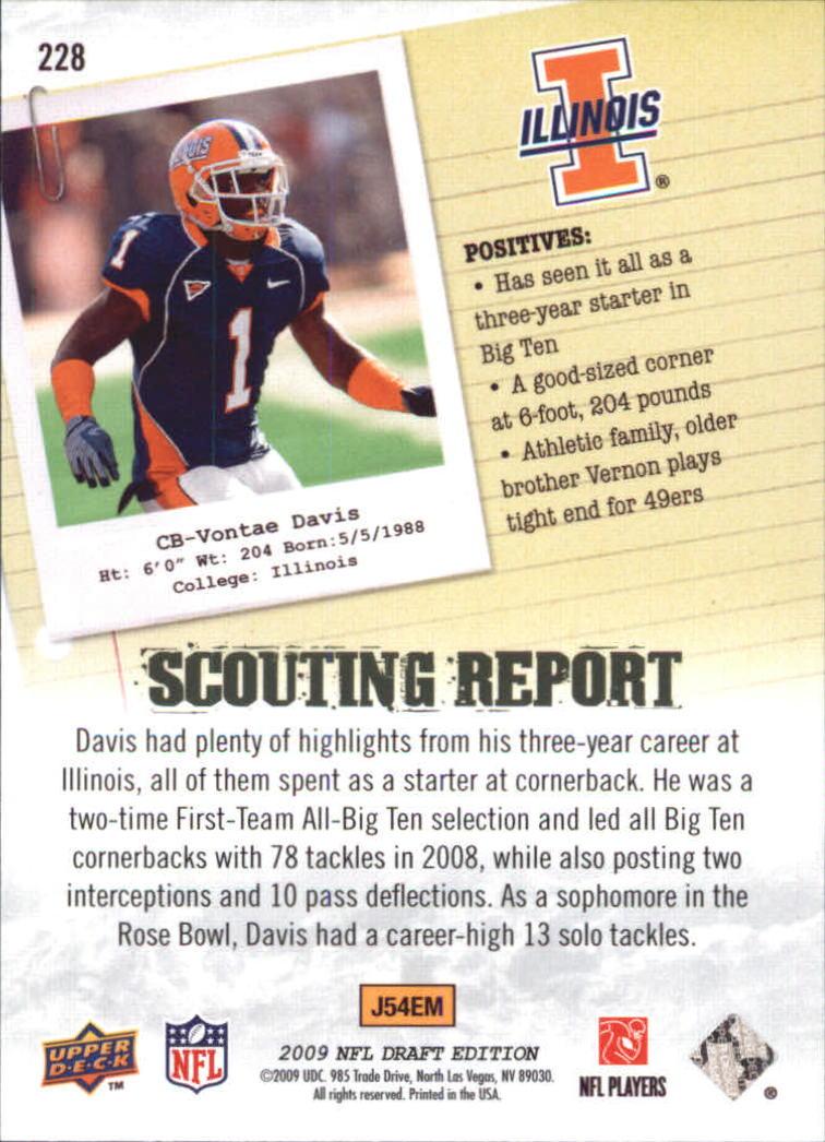 2009-Upper-Deck-Draft-Edition-Football-1-255-Your-Choice-GOTBASEBALLCARDS thumbnail 339