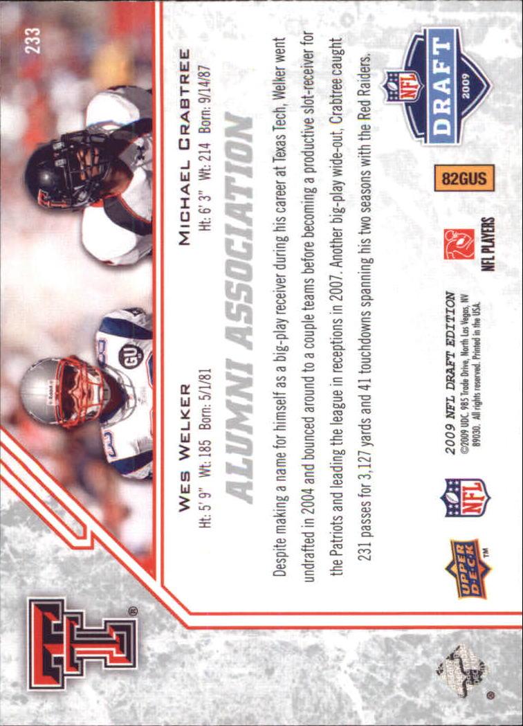 2009-Upper-Deck-Draft-Edition-Football-1-255-Your-Choice-GOTBASEBALLCARDS thumbnail 343