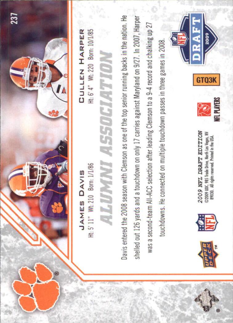 2009-Upper-Deck-Draft-Edition-Football-1-255-Your-Choice-GOTBASEBALLCARDS thumbnail 345