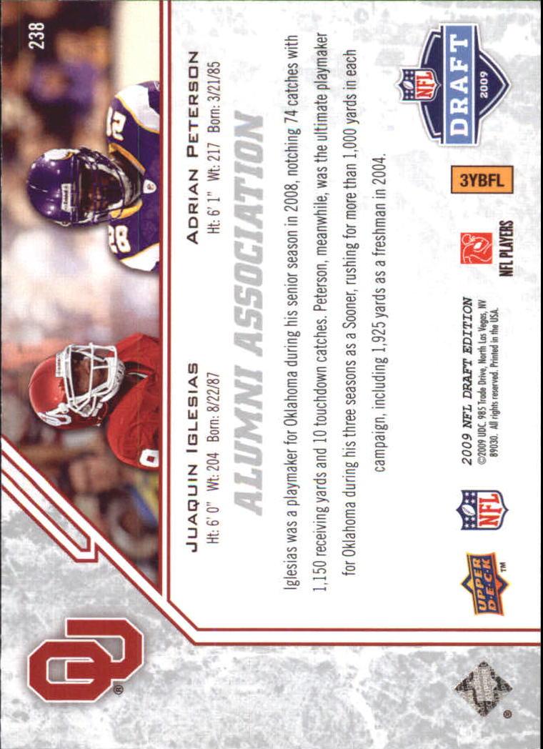 2009-Upper-Deck-Draft-Edition-Football-1-255-Your-Choice-GOTBASEBALLCARDS thumbnail 347
