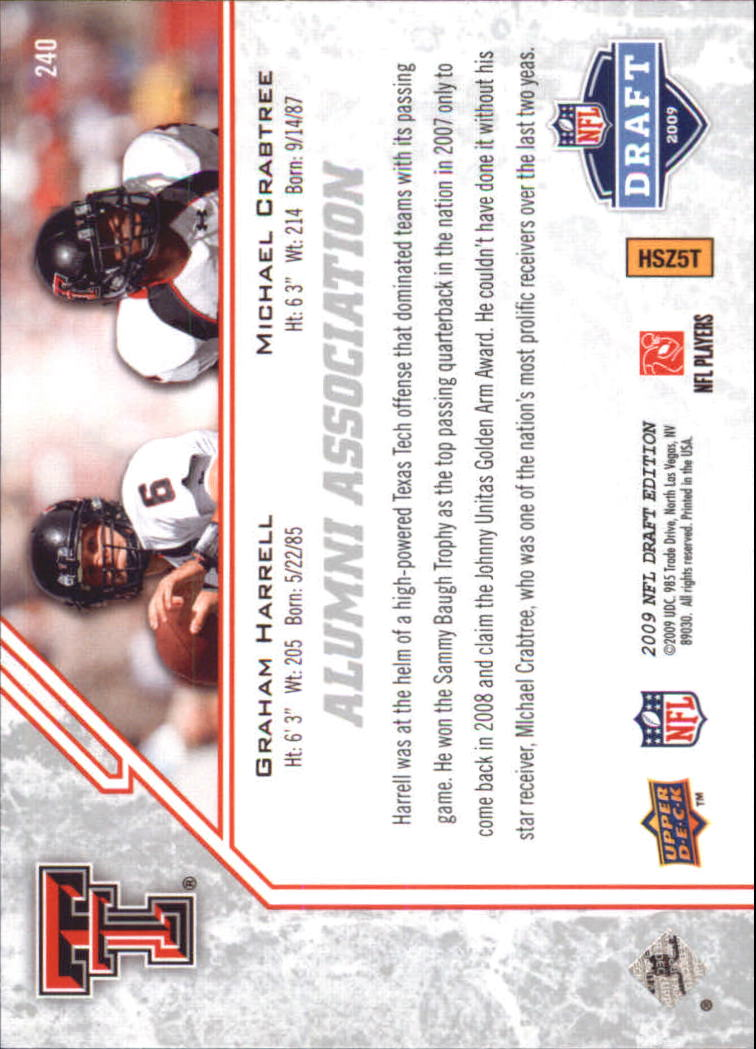 2009-Upper-Deck-Draft-Edition-Football-1-255-Your-Choice-GOTBASEBALLCARDS thumbnail 349