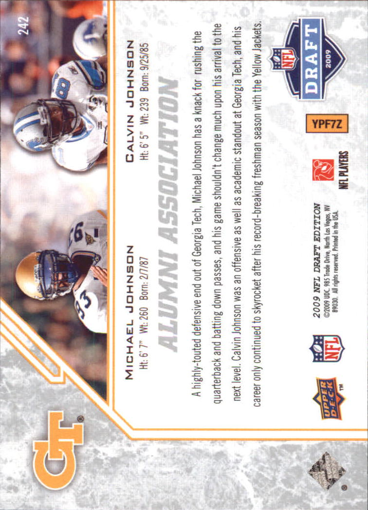 2009-Upper-Deck-Draft-Edition-Football-1-255-Your-Choice-GOTBASEBALLCARDS thumbnail 351