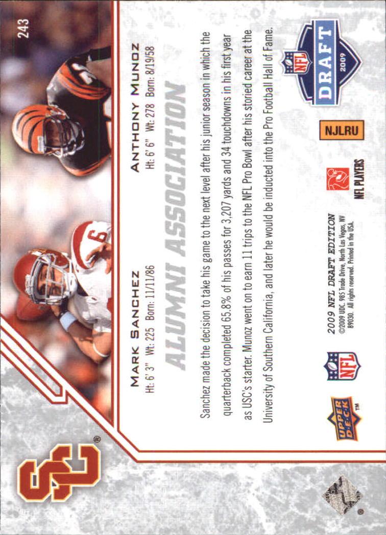 2009-Upper-Deck-Draft-Edition-Football-1-255-Your-Choice-GOTBASEBALLCARDS thumbnail 353