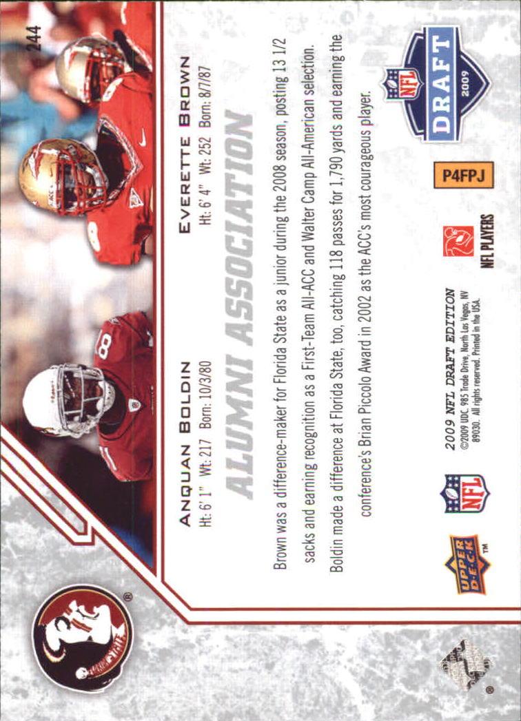 2009-Upper-Deck-Draft-Edition-Football-1-255-Your-Choice-GOTBASEBALLCARDS thumbnail 355