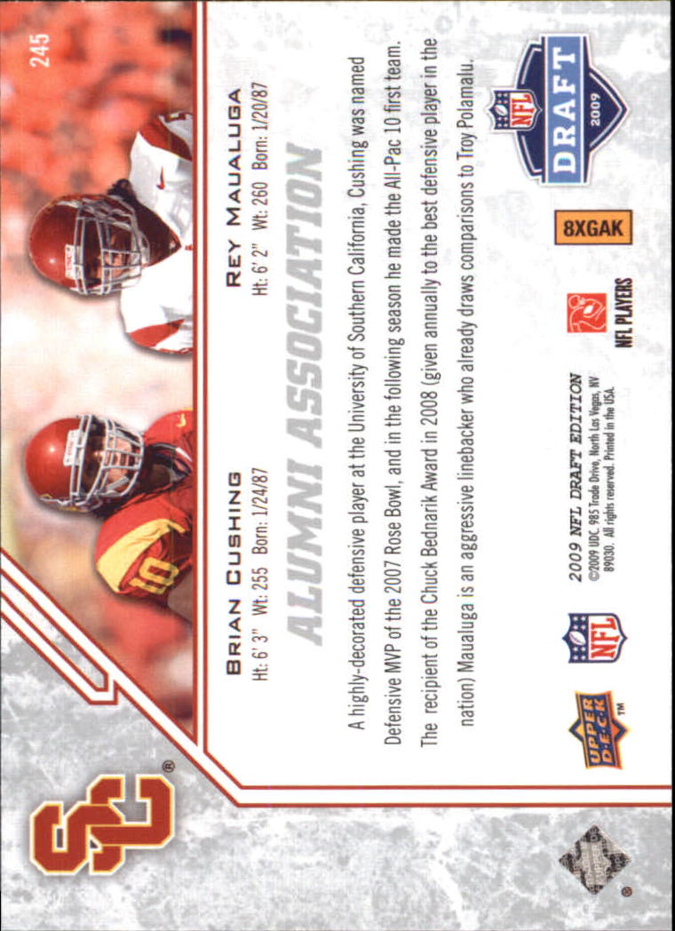 2009-Upper-Deck-Draft-Edition-Football-1-255-Your-Choice-GOTBASEBALLCARDS thumbnail 357