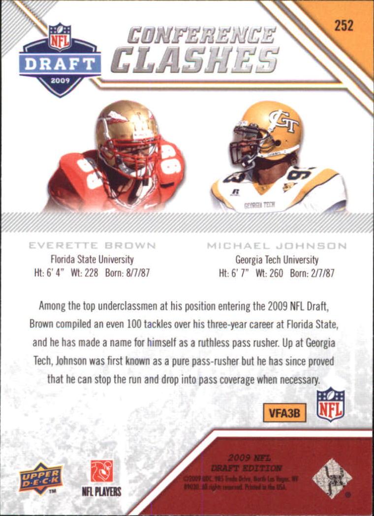 2009-Upper-Deck-Draft-Edition-Football-1-255-Your-Choice-GOTBASEBALLCARDS thumbnail 361