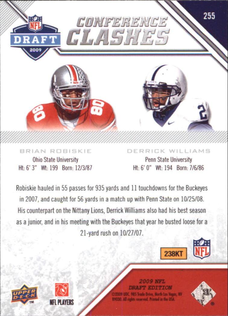 2009-Upper-Deck-Draft-Edition-Football-1-255-Your-Choice-GOTBASEBALLCARDS thumbnail 363