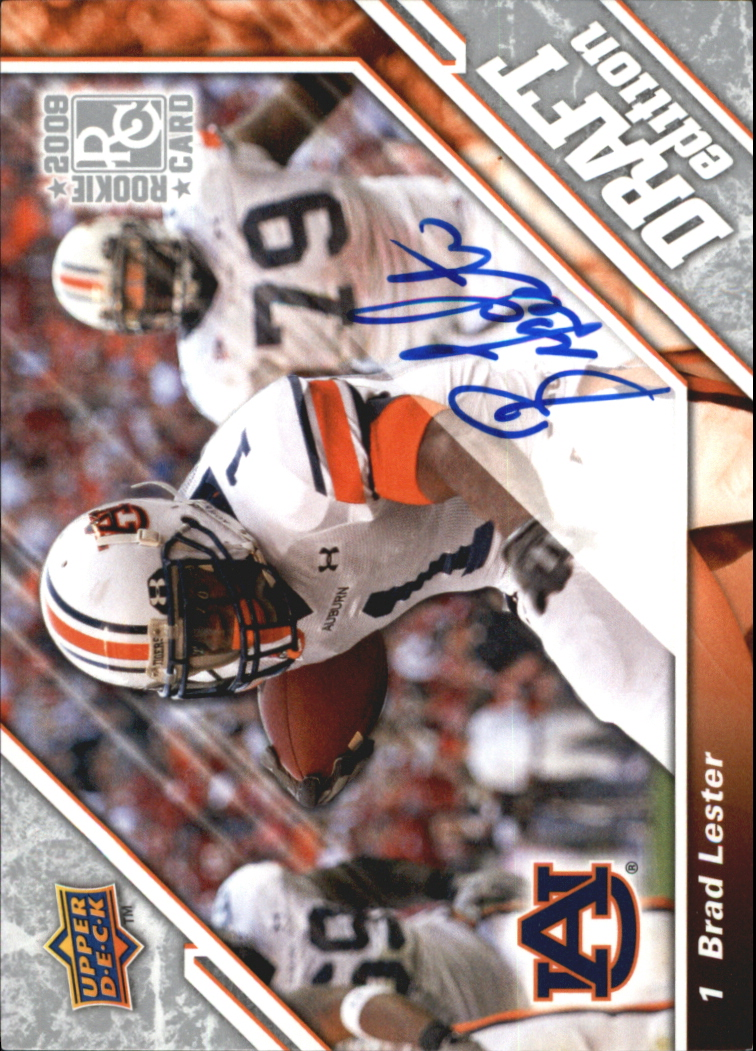 2009 Upper Deck Draft Edition Autographs Silver #131 Brad Lester