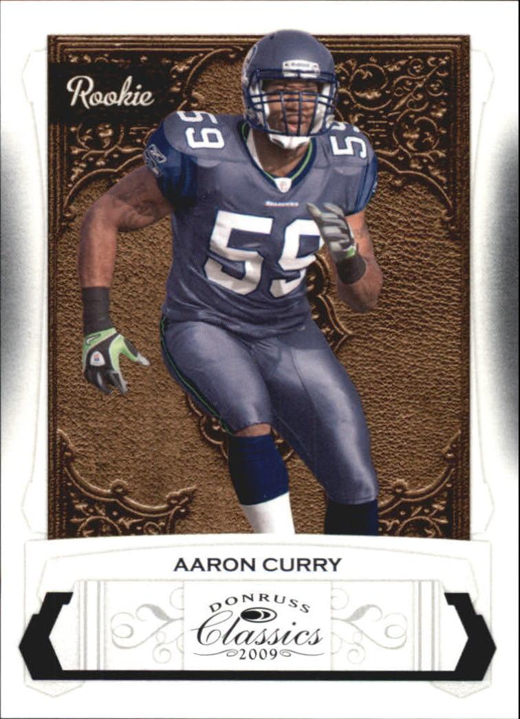 2009 Donruss Classics #151 Aaron Curry RC