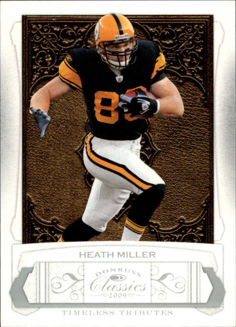 2009 Donruss Classics Timeless Tributes Silver #77 Heath Miller
