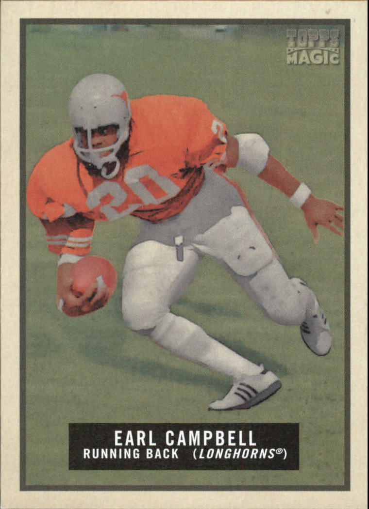 2009 Topps Magic #28 Earl Campbell