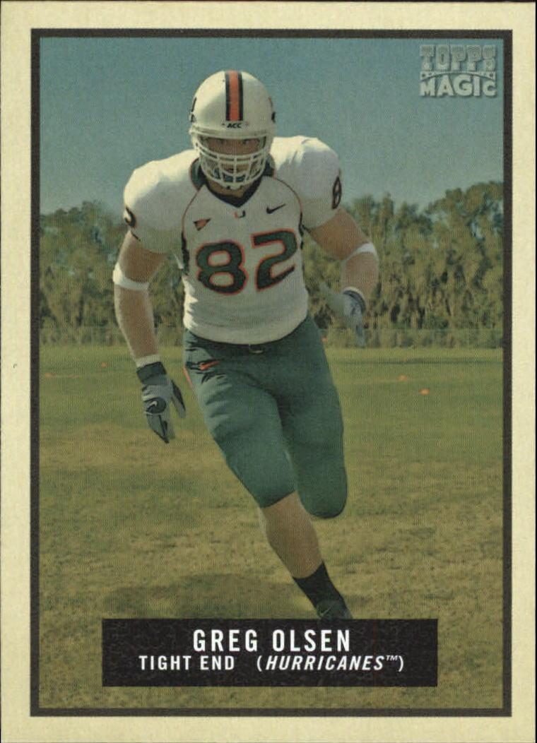 2009 Topps Magic #136 Greg Olsen SP