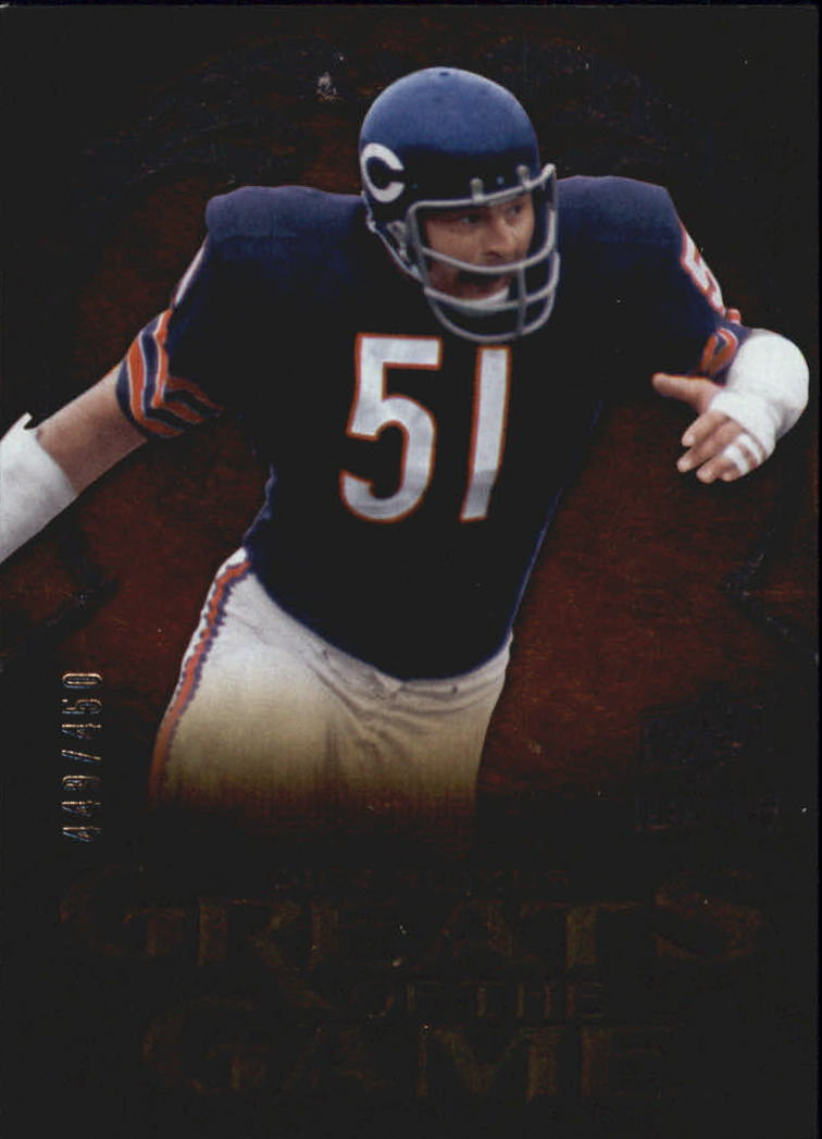2009 Upper Deck Icons Greats of the Game Silver #GGDB Dick Butkus