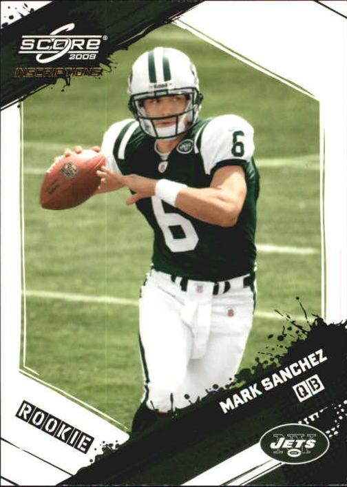 2009 Score Inscriptions #370 Mark Sanchez RC
