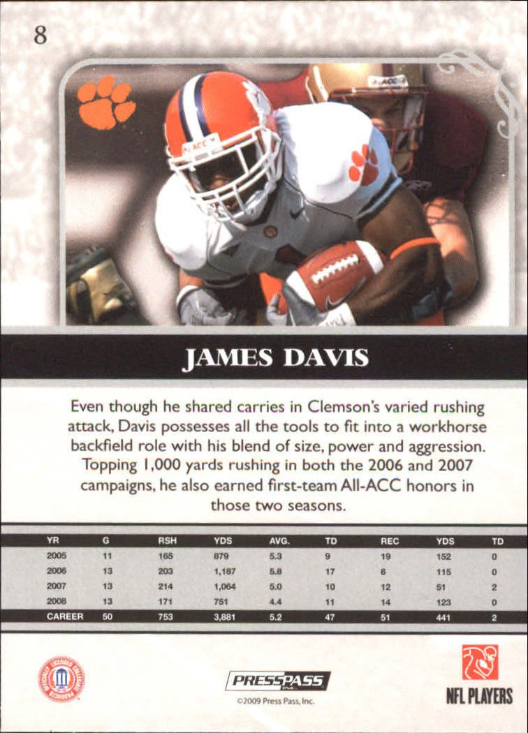 2009-Press-Pass-Legends-Football-1-100-Your-Choice-GOTBASEBALLCARDS thumbnail 11
