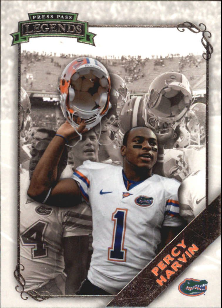 2009 Press Pass Legends #12 Percy Harvin