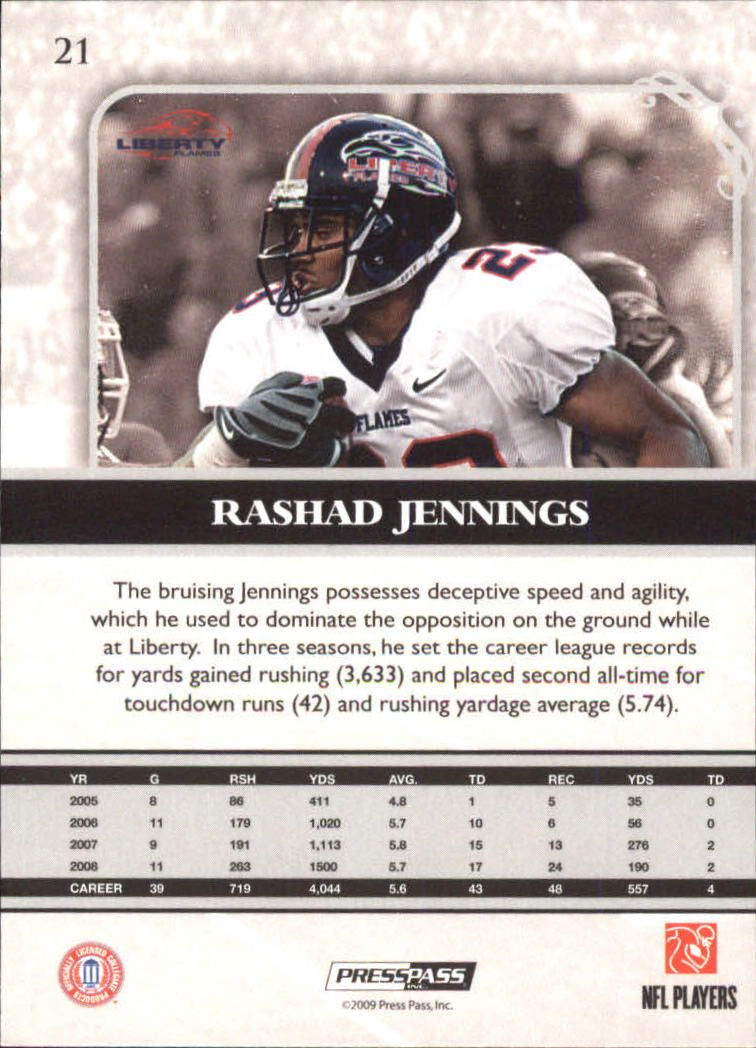 2009-Press-Pass-Legends-Football-1-100-Your-Choice-GOTBASEBALLCARDS thumbnail 31