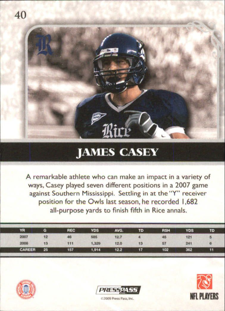 2009-Press-Pass-Legends-Football-1-100-Your-Choice-GOTBASEBALLCARDS thumbnail 59