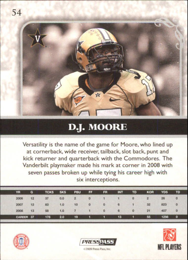 2009-Press-Pass-Legends-Football-1-100-Your-Choice-GOTBASEBALLCARDS thumbnail 77
