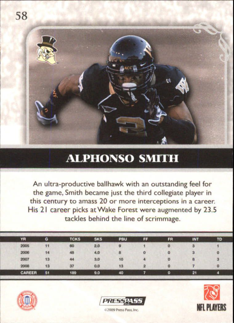 2009-Press-Pass-Legends-Football-1-100-Your-Choice-GOTBASEBALLCARDS thumbnail 85